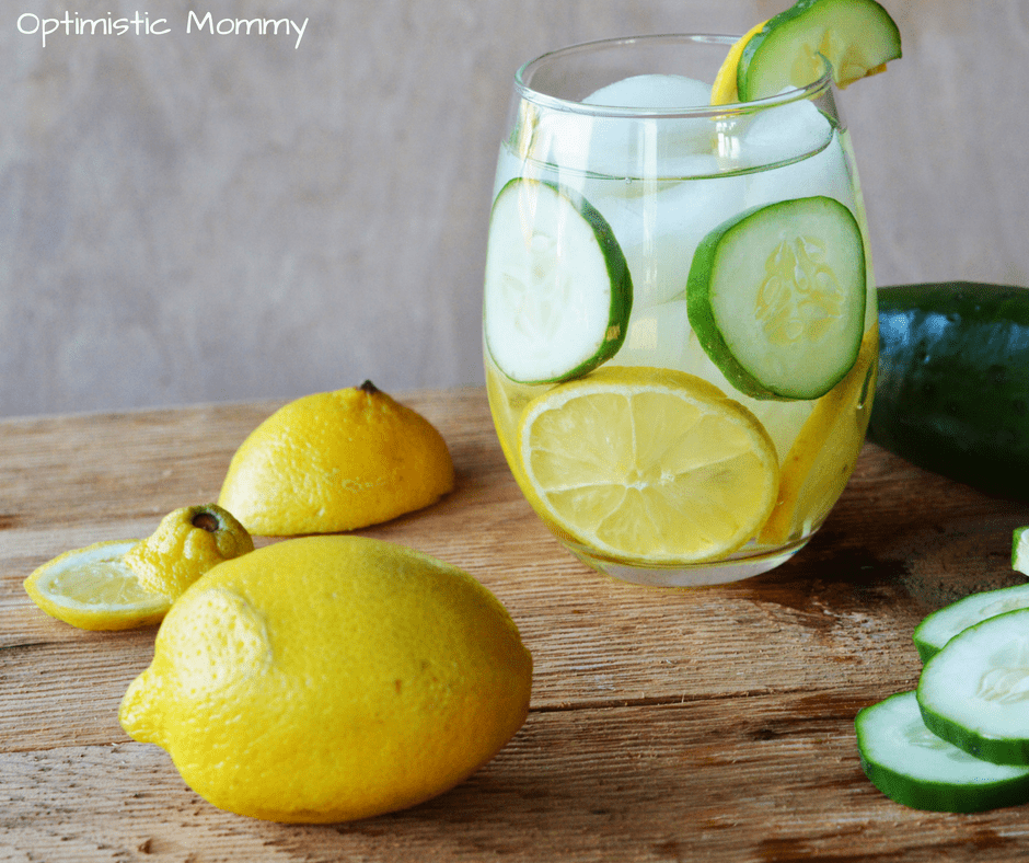 Detox Water Recipe: Don't miss our delicious and refreshing Lemon Cucumber Detox Water Recipe for a great way to get more water into your system easily