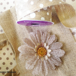Burlap Bag DIY For Spring: Make our budget-friendly Burlap Bag DIY for Spring with simple tutorial and inexpensive supplies you can find in dollar stores!