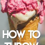 how to throw an ice cream party