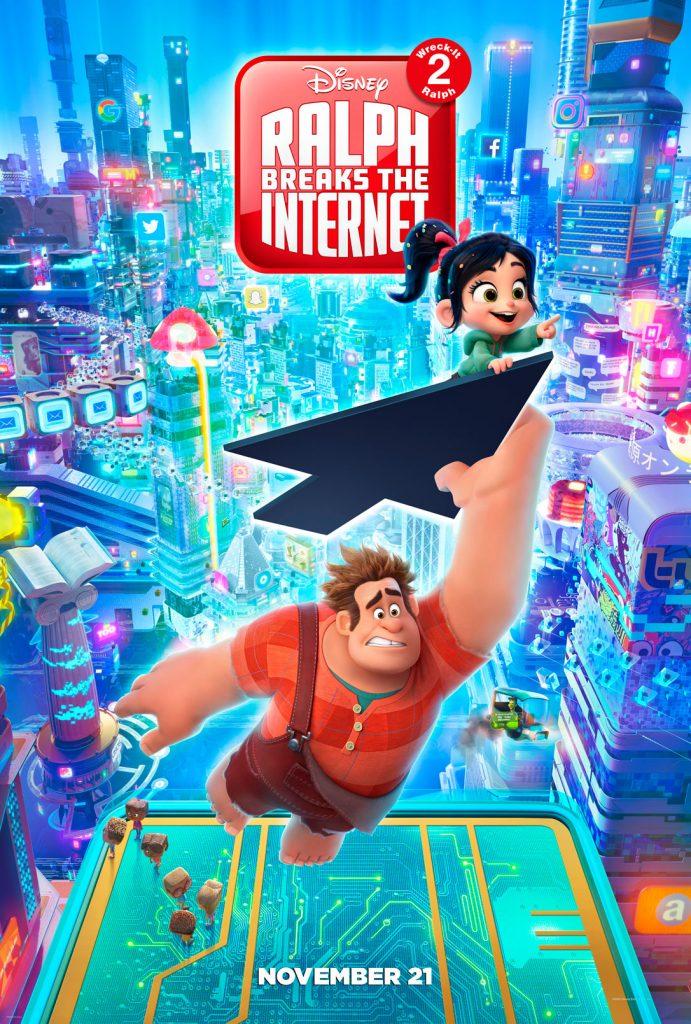 Ralph Breaks the Internet Wreck-It Ralph 2 Poster