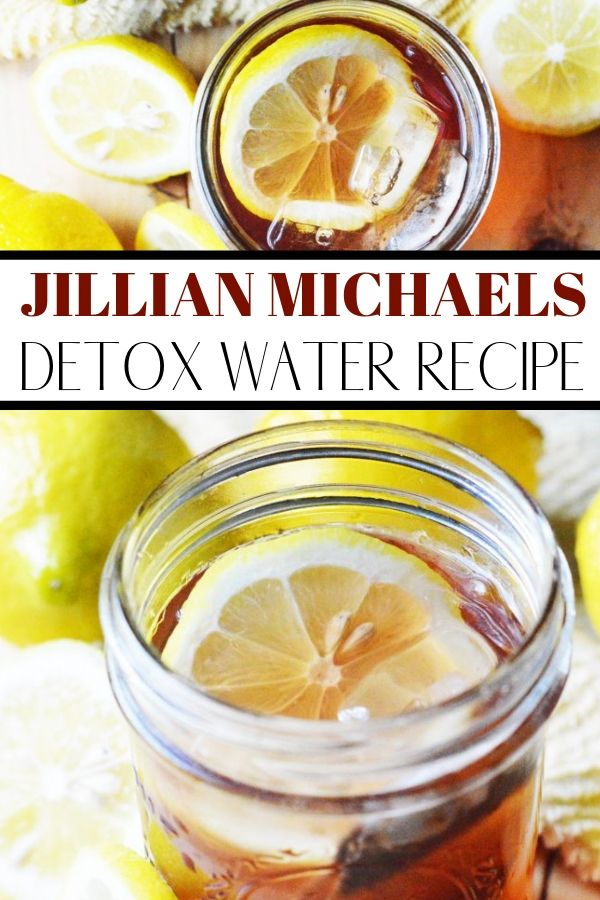 Jillian Michaels Detox Water