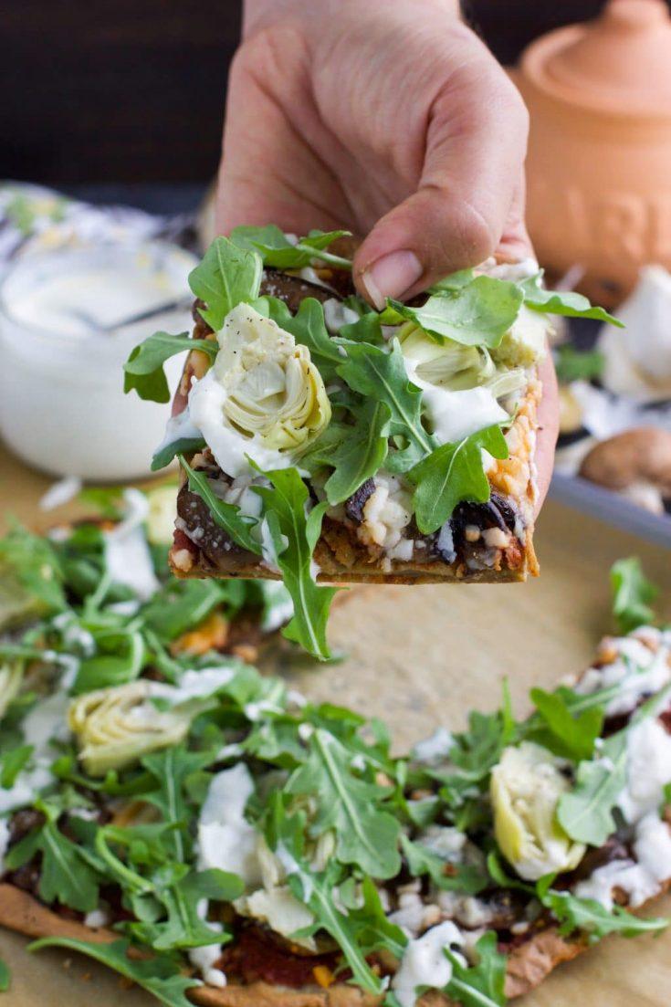 Quinoa Flatbread Pizza Recipe
