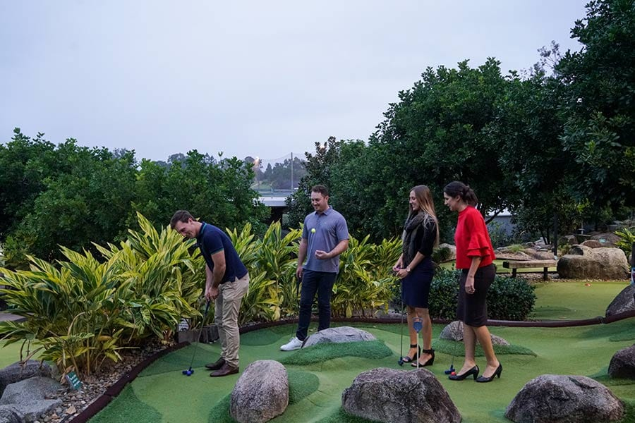Best Mini Golf Locations In Brisbane Optimistic Mommy