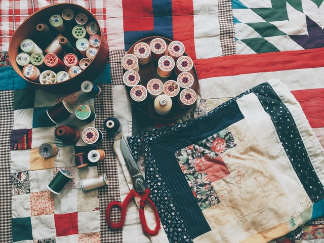 Fabric craft ideas for living room