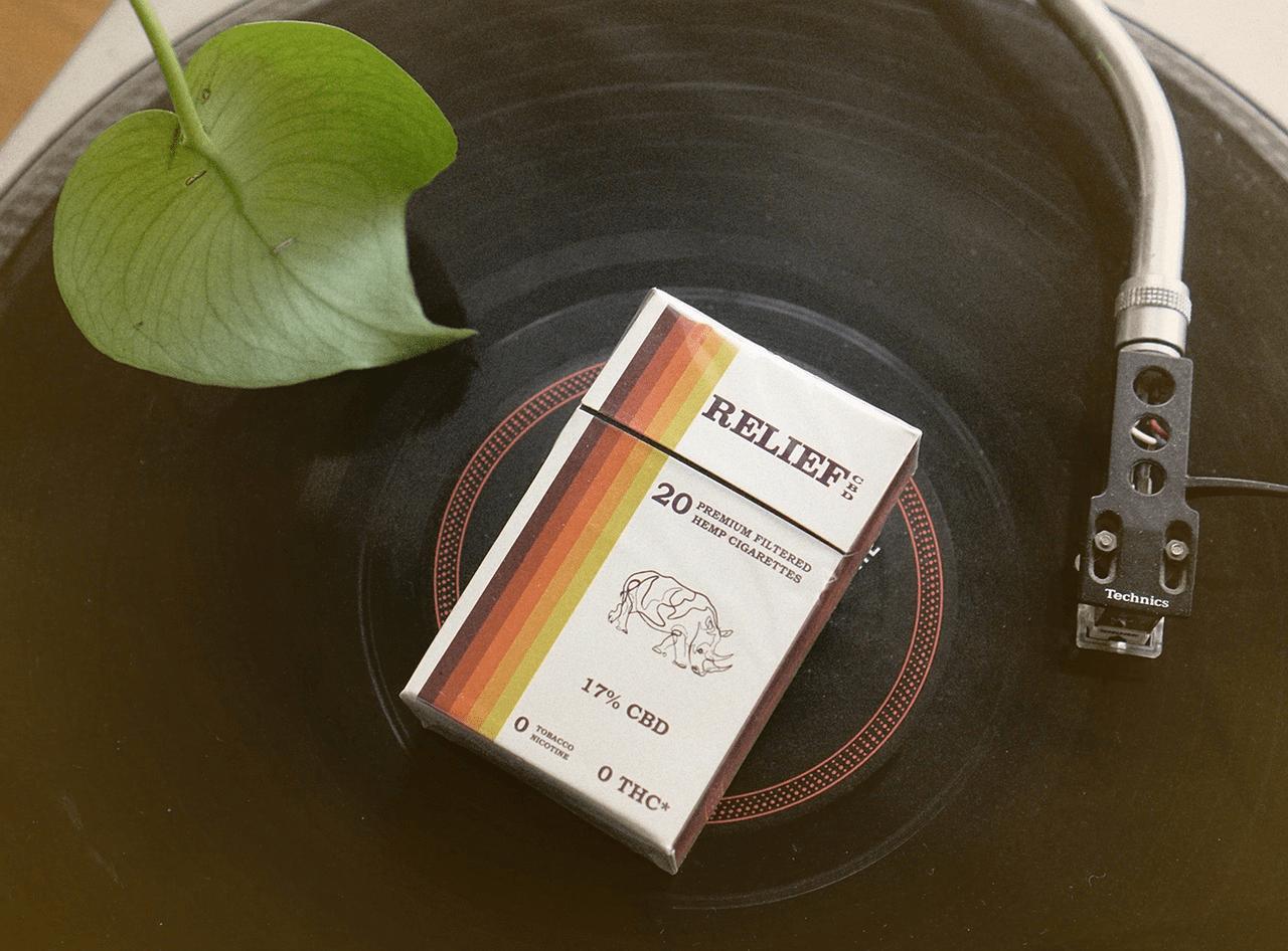 CBD Cigarettes packet