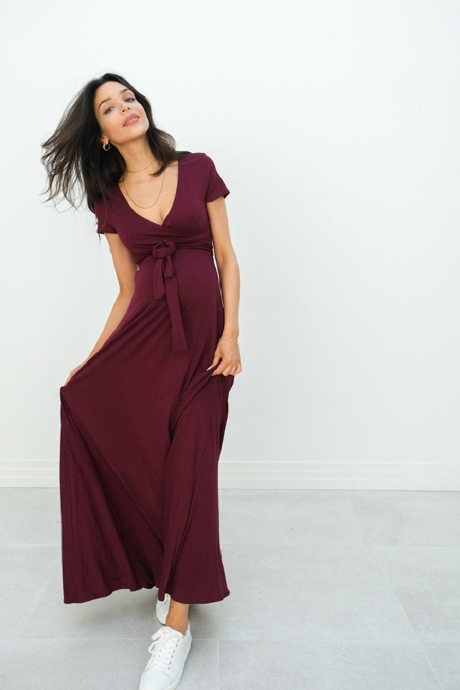 dress for pregnent mom